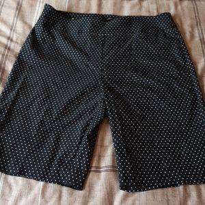 POLKA DOT SIZE 14 Bermuda shorts